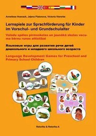 Dokumentbild Lernspiele zur Sprachförderung für Kinder
